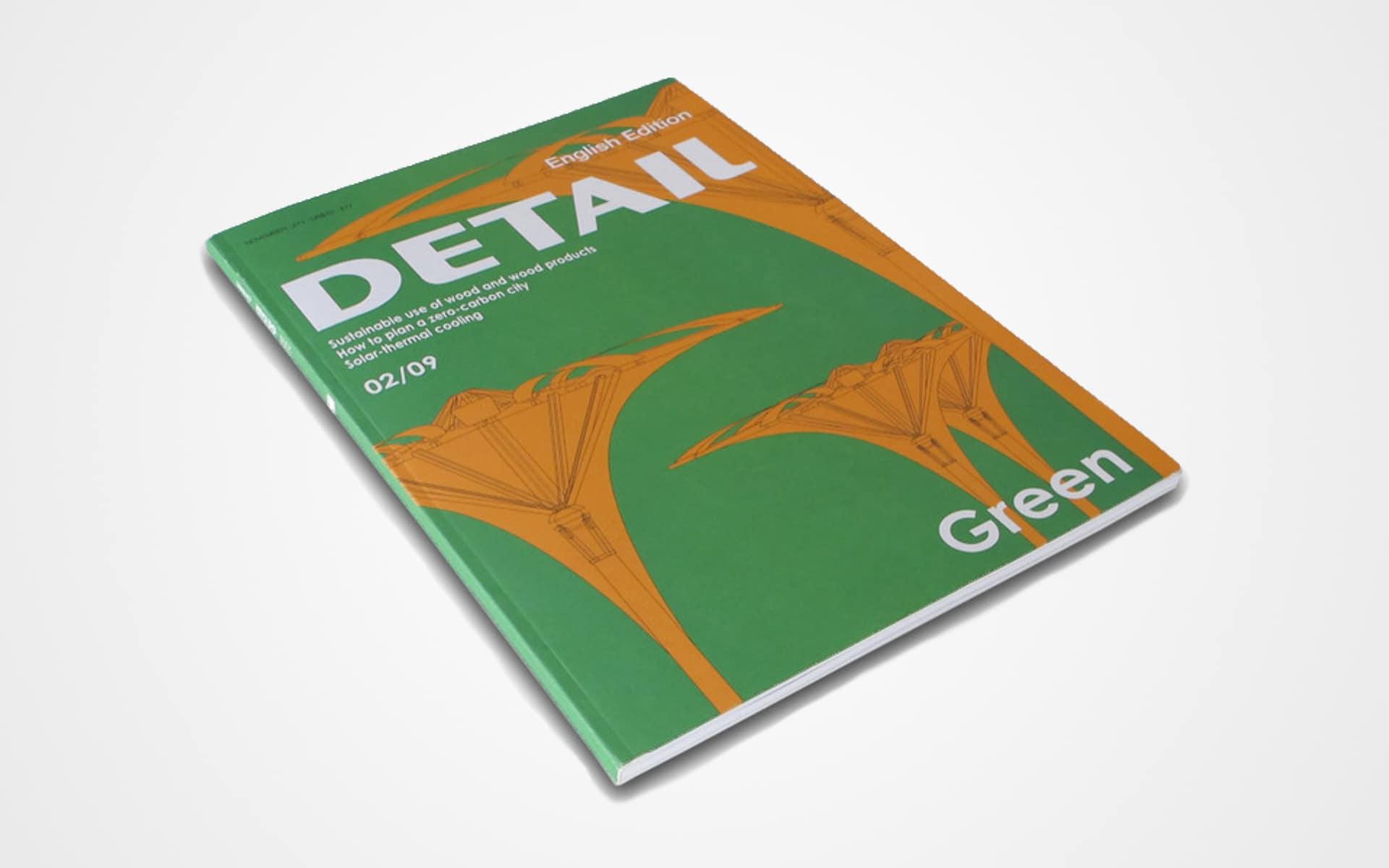 Titelseite des Detail-Magazins der Ausgabe aus dem Jahr 2009.