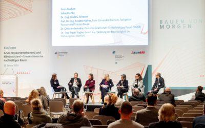 """Konferenzreihe """"Bauen von Morgen"""": NEST auf der BAU 2019"""