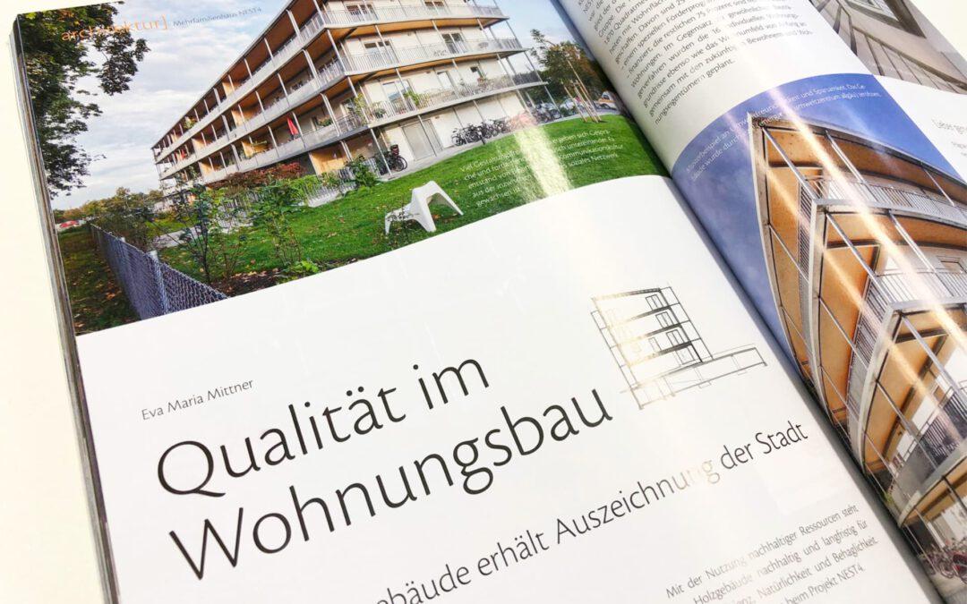 NEST AB2: Qualität im Wohnungsbau